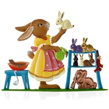 Pewter Candy Maker Bunny