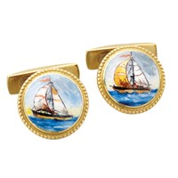 Sailboats Cufflinks