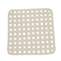 Natural Open Lattice Square Placemat