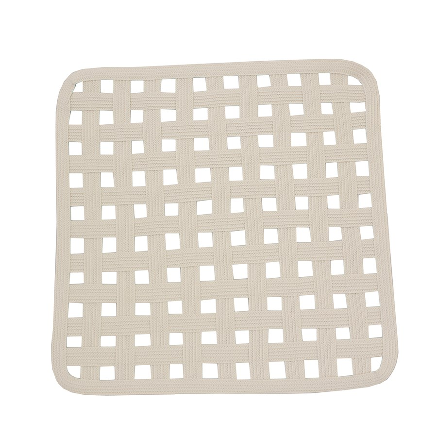 natural open lattice square placemat placemats coasters table accents tabletop. Black Bedroom Furniture Sets. Home Design Ideas