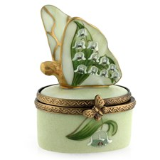 Lily of the Valley Butterfly Box