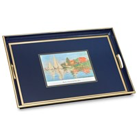 Claude Monet French Impressionist Glass Tray