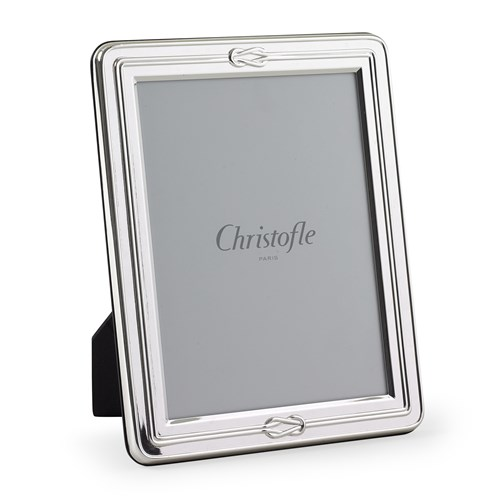 Christofle Egea Silverplated Picture Frame Collection Silver