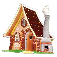 Pewter Gingerbread House