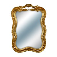 New Wave Gold Mirror