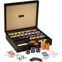 Texas Hold'em Poker Box in Black