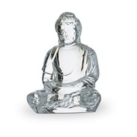 Baccarat Little Buddha Crystal Figurine