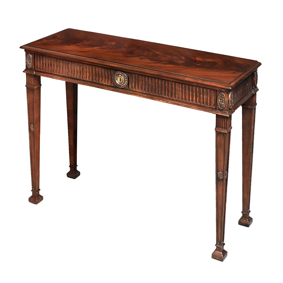 console table mahogany carved mahogany dressing console table console tables 2443