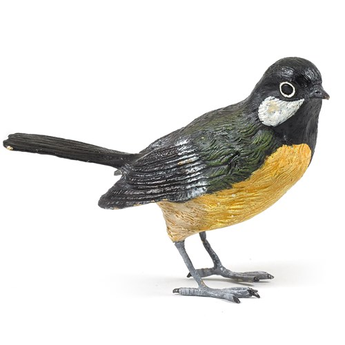 Austrian Bronze Great Titmouse Figurine