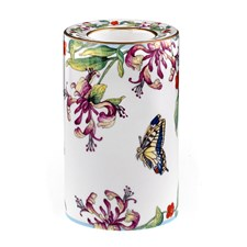 Halcyon Days Floral Garden Candle Holder