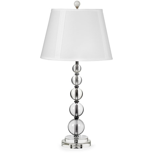 Crystal & Chrome Table Lamp