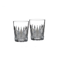 Waterford Lismore Diamond Double Old Fashione, Set of 2