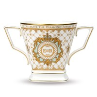 "Halcyon Days ""Royal Cypher"" Loving Cup"