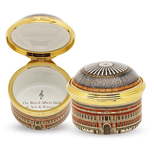 "Halcyon Days ""Royal Albert Hall"" Round Box"