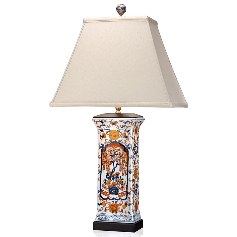 Attirant Imari Porcelain Table Lamp. Hover To Zoom