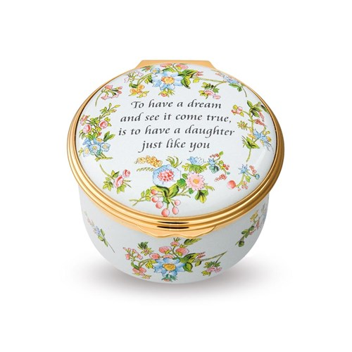 Halcyon Days To Have a Dream Enamel Box