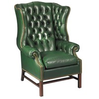 Williamsburg Tufted Wing Chair