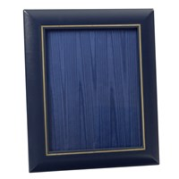 "Double Line Leather Frame 8"" x 10"""