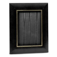 "Double Line Leather Frame 5"" x 7"""