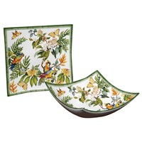 Madagascar Square Servingware