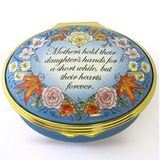 Halcyon Days Mothers Hold Their Daughters Hands Box