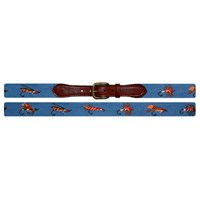 Fishing Flies Belt (Blue)
