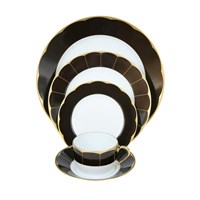 Haviland Illusion Choclat Place Setting