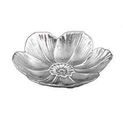 Buccellati Sterling Silver Narcissus Flower Dish, Small