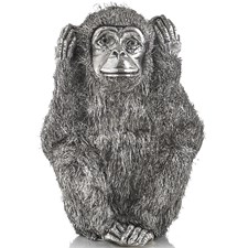 Hear No Evil Sterling Silver Monkey