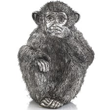 Speak No Evil Sterling Silver Monkey