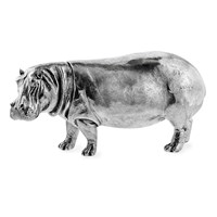 Sterling Silver Hippo Large