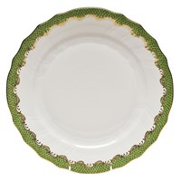 Herend Fish Scale China, Evergreen