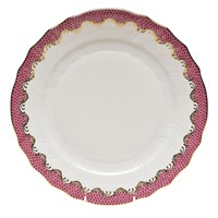 Herend Fish Scale China, Raspberry