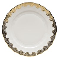 Herend Fish Scale China, Gold