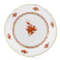 Herend Chinese Bouquet Porcelain, Rust