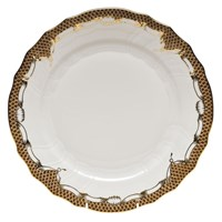 Herend Fish Scale China, Brown