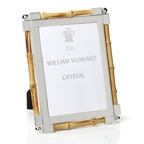William Yeoward Bamboo Silverplate Frame | Silver Frames | Picture ...