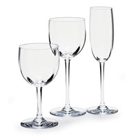 "Baccarat ""Montaigne Optic"" Stemware and Barware"