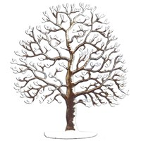 Pewter Large Bare Winter Tree