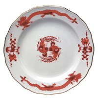 Meissen Rich Court Dragon Red