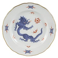 Meissen Ming Dragon China, Light Blue