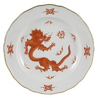 Meissen Ming Dragon China, Red Porcelain