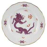 Meissen Ming Dragon Lilac China