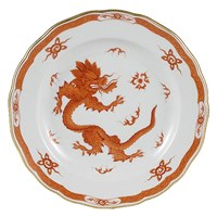 Meissen Ming Dragon China, Red Border