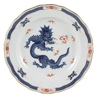 Meissen Ming Dragon Cobalt Blue Border