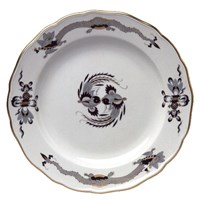 Meissen Rich Court Dragon Black