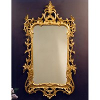 Gold Foliate Chippendale Mirror