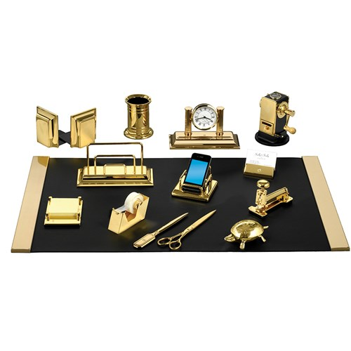 Desk Set (23k Goldplate)