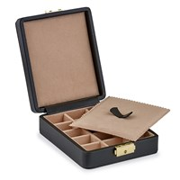 Leather Cufflink Boxes, Small