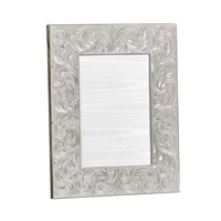Sterling Silver Frame with Swirls